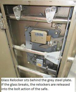 Image of relocker mechanism