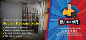 Captain Safe - Ex-bank Firearm Safe